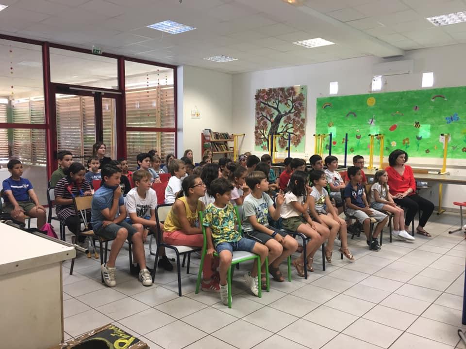 Les délégués de classes de l'école primaire