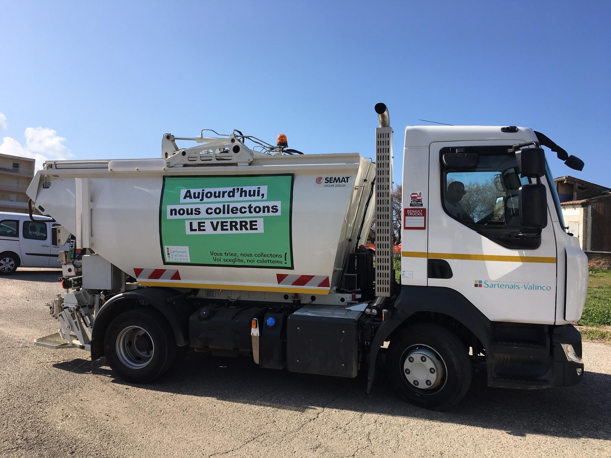 Achat de camions de collecte des déchets