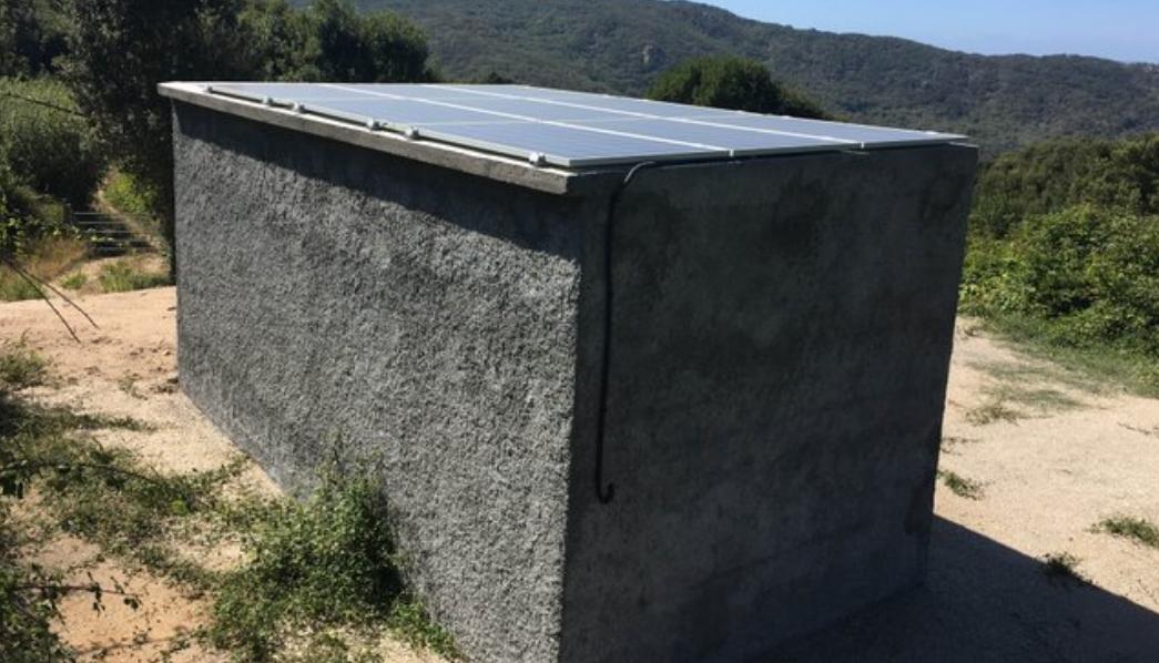 Premier forage solaire de Corse